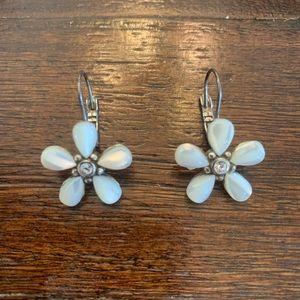 White Flower Brighton Earrings